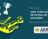 Final da XXIV Copa do Mundo de Futsal Dr. Nelson Salomão – Categorias Masculino e Feminino